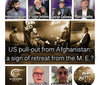 Kalima Horra Afghanistan under Taliban Poster Square George Galloway, Almayadeen, Khabazan, Narcissi