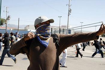 student resisting police
