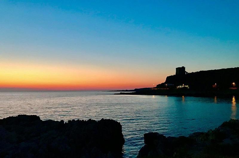 FOTO DEL GIORNO – L'ALBA A SANTA CATERINA