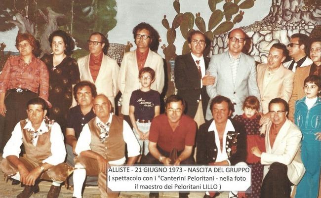 LA SCOMPARSA DEL MAESTRO CORIDO CIONI