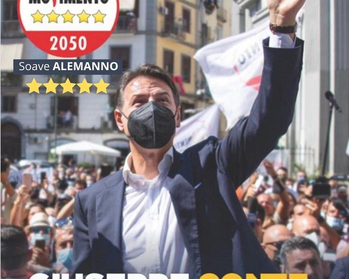 LUNEDÌ 20 SETTEMBRE GIUSEPPE CONTE A NARDÒ