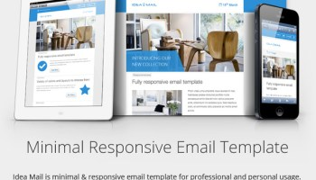 7 flat material design responsive email templates narga 10 awesome responsive email templates for newsletters pronofoot35fo Images