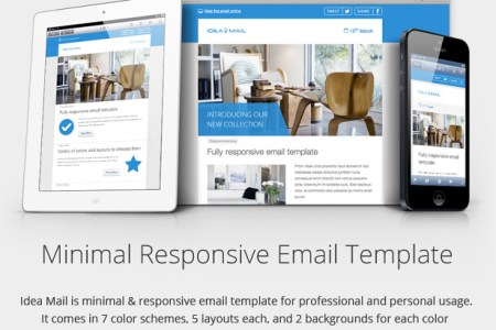 Free Business Letter Template Responsive Email Template Open - Email template open source