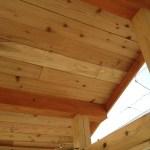 「DIYでサンルーム温室8」天井貼り編
