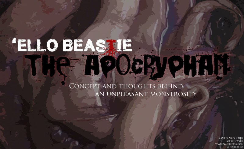 "'Ello Beastie: ""The Apocryphan"""