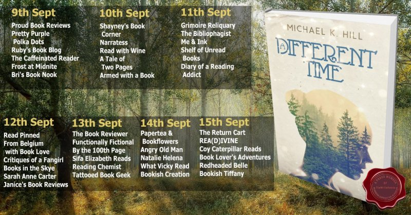 Book Tour: A Different Time by Michael K. Hill