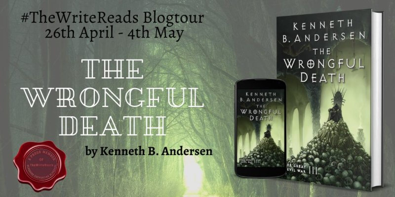 Book Tour: The Wrongful Death by Kenneth B. Andersen