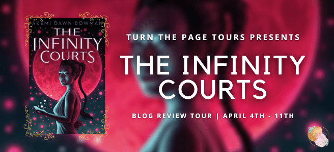 Booktour: The Infinity Courts by Akemi Dawn Bowman