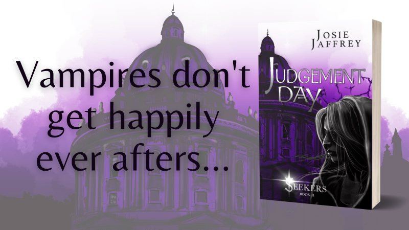 Review + Cover Reveal: Judgement Day by Josie Jaffrey