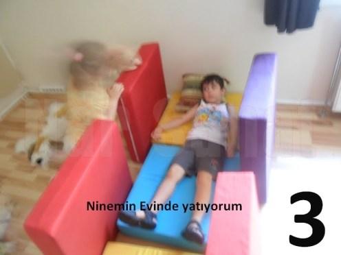 3 Ninemin evinde dinleniyoruz