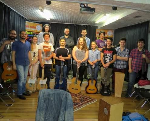 Gitar Klinik Workshop Nar Sanat Etkinliği.
