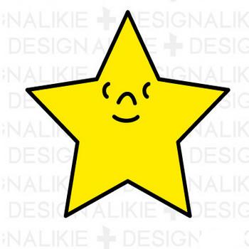 星の無料イラスト素材|dakIMG