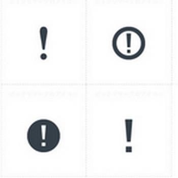 エクスクラメーションマーク | 商用可の無料(フリー)のアイコン素材をダウンロードできるサイト『icon rainbow』