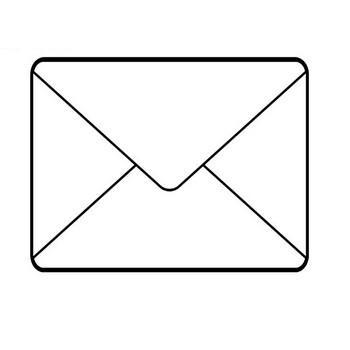 [無料イラスト] メールアイコン - パブリックドメインQ:著作権フリー画像素材集
