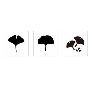 銀杏|シルエット イラストの無料ダウンロードサイト「シルエットAC」