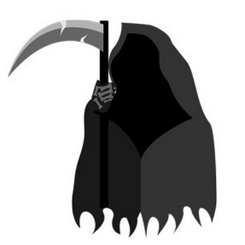 Grim Reaper Icon - Halloween Icons - SoftIcons.com
