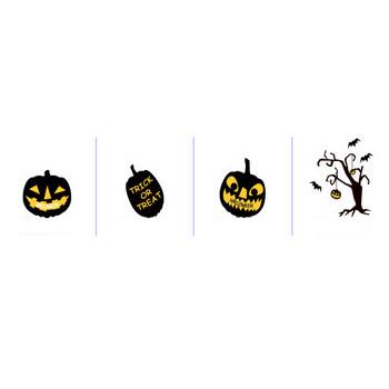 季節と行事「ハロウィン」 無料イラスト素材 / トップページ