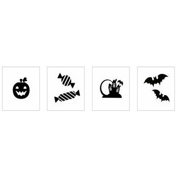 ハロウィン|シルエット イラストの無料ダウンロードサイト「シルエットAC」