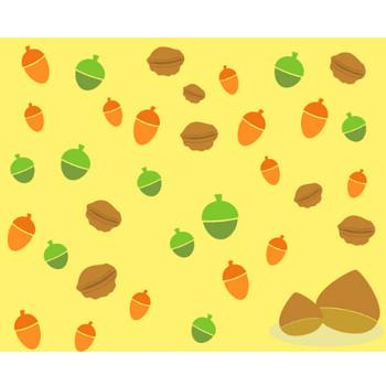 小さな秋みいつけたっ!のフリー素材|WEB・ホームページ素材、イラスト、壁紙、写真が無料でダウンロード