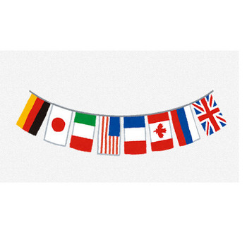 万国旗のイラスト   かわいいフリー素材集 いらすとや