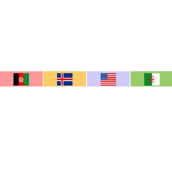 世界の国旗一覧 | 地図・名前・カテゴリ・ランキングから探せます