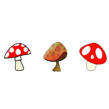 Mushroom Clip Art | Free Clip Art & Vector Art At Clker