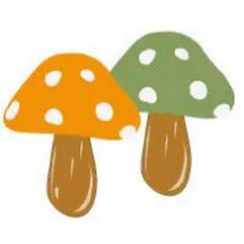 秋冬のアイコンに使えるキノコのイラストのフリー素材:200×200pix | webデザイン素材 tigpig