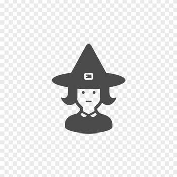 魔女のフリーアイコン2 | アイコン素材ダウンロードサイト「icooon-mono」 | 商用利用可能なアイコン素材が無料(フリー)ダウンロードできるサイト