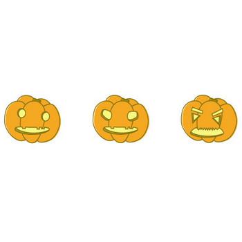 イラスト ハロウィン-かぼちゃ フリー素材 by i_caffe
