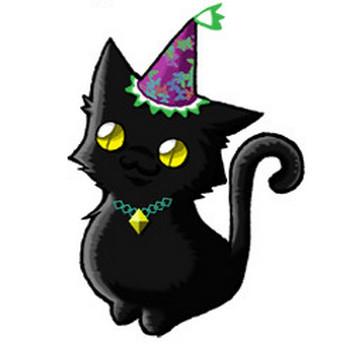 ハロウィンに使えそうな「使い魔の黒猫」のフリーイラスト素材 ( イラストレーション ) - ことらの絵日記 - Yahoo!ブログ