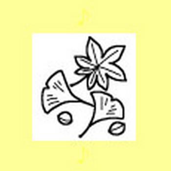 秋3/ミニカット/無料イラスト【みさきのイラスト素材】