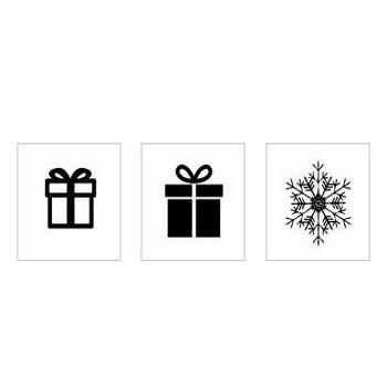 クリスマス|シルエット イラストの無料ダウンロードサイト「シルエットAC」