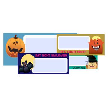 Free Halloween Address Labels, Fillable PDF Printables | Worldlabel Blog