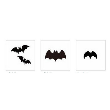 コウモリ|シルエット イラストの無料ダウンロードサイト「シルエットAC」