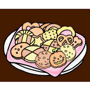 クッキーのイラスト | イラスト素材:パンコス