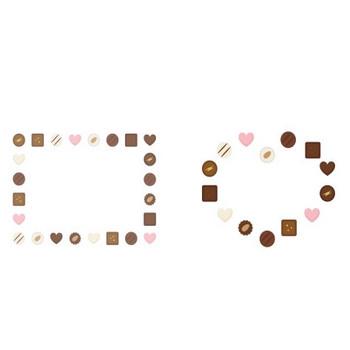 お菓子 | 無料イラスト かわいいフリー素材集 フレームぽけっと