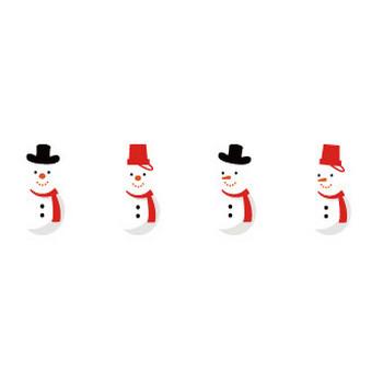 雪だるま イラスト | EC design(デザイン)