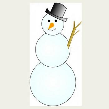 もう一つの雪だるまのクリップアート ベクター クリップ アート - 無料ベクター   無料素材イラスト・ベクターのフリーデザイナー