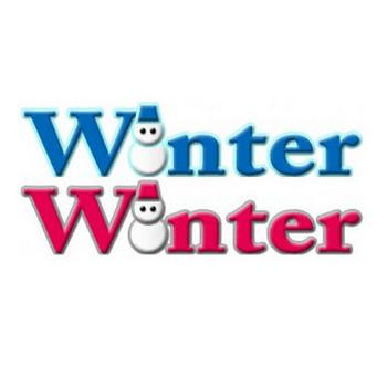 Winterの雪だるまロゴ | イラストが無料の【DDばんく】