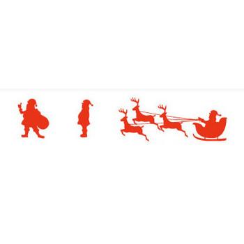 サンタクロースのシルエット | シルエットデザイン