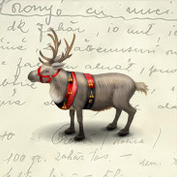 Reindeer Icon - Christmas 2010 Icons - SoftIcons.com