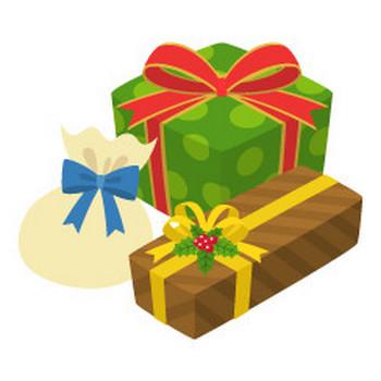 プレゼントボックス - イラスト素材   商用利用可のベクターイラスト素材集「ピクト缶」