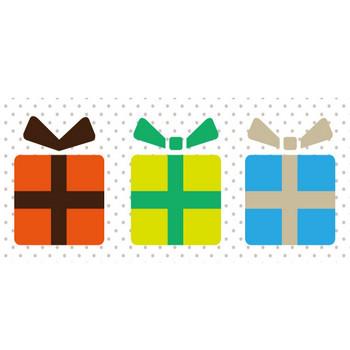 クリスマスプレゼント25 – クリスマス・ハロウィン、お正月イラストEVENTs Design