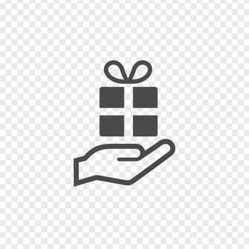 プレゼントの無料イラスト   アイコン素材ダウンロードサイト「icooon-mono」   商用利用可能なアイコン素材が無料(フリー)ダウンロードできるサイト