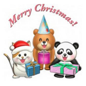 クリスマスプレゼント   イラストが無料の【DDばんく】