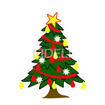 クリスマスツリーのイラスト01のダウンロード|フィデリ・ビジネス文書集