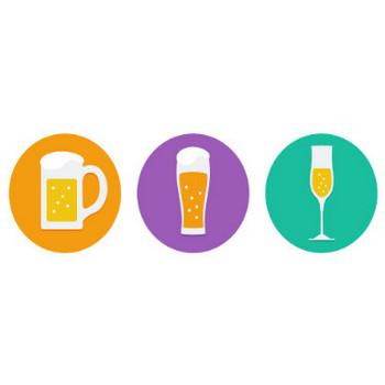 忘年会!新年会!居酒屋食べ物イラスト素材|アクトゼロ|SMMやSEMを中心としたデジタルマーケティング会社