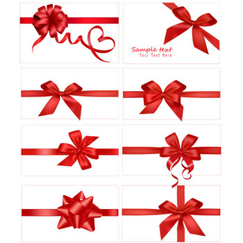 Vector festive gift bow_Download free vector,3d model,Icon--youtoart.com