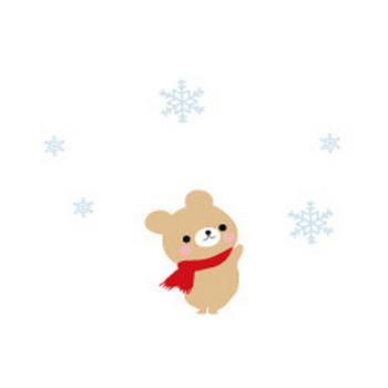 冬イラスト/雪-無料イラスト
