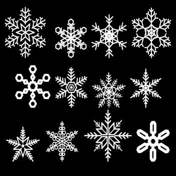 雪の結晶イラスト素材 | 無料(フリー)素材